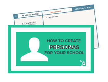 Free Template: How to Create Personas For Your School