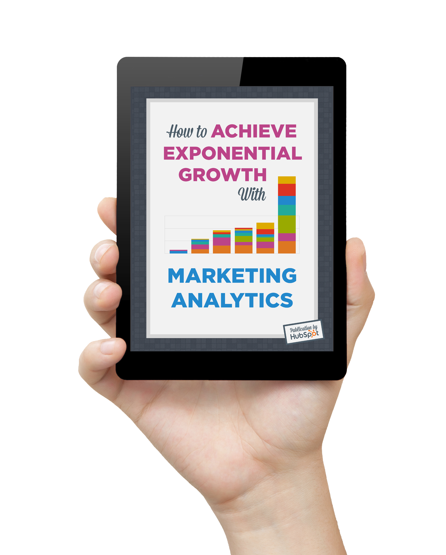 Marketing with Analytics Tablet