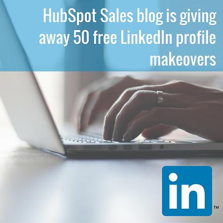HubSpot Sales blog giveaway