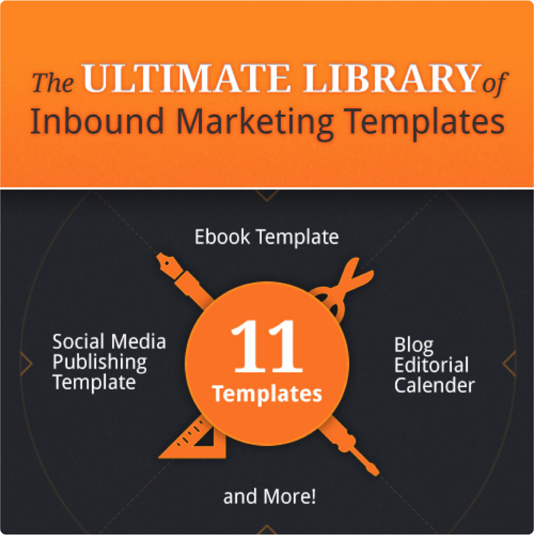 The Ultimate LIbrary of Inbound Marketing Templates
