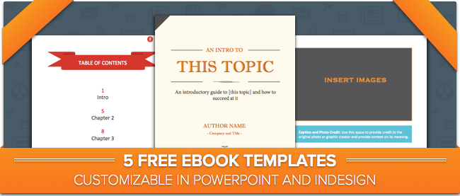 Free Download: 5 Ebook Templates