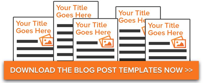 Download 5 free blog post templates