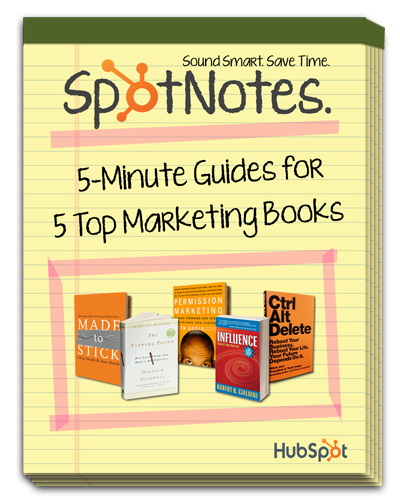 SpotNotes: 5-Minute Guides for 5 Top Marketing Books