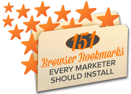 151 Browser Bookmarks Every Marketer Should Install