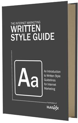 The Internet Marketing Written Style Guide