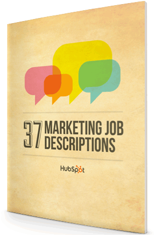 37 Marketing Job Descriptions