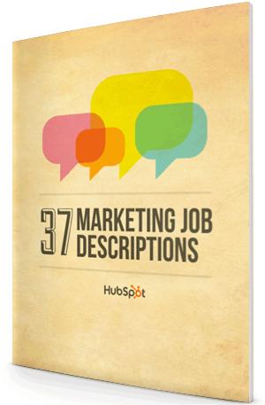 37 Marketing Job Descriptions