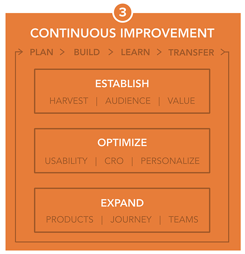 Growth-Driven Design Website Improvement Framework