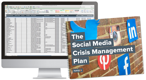 HubSpot Social Media Crisis Management Plan