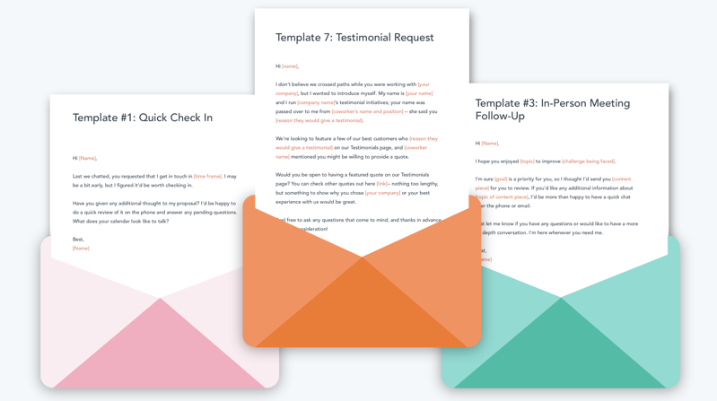Sales and Marketing Email Templates for Startups