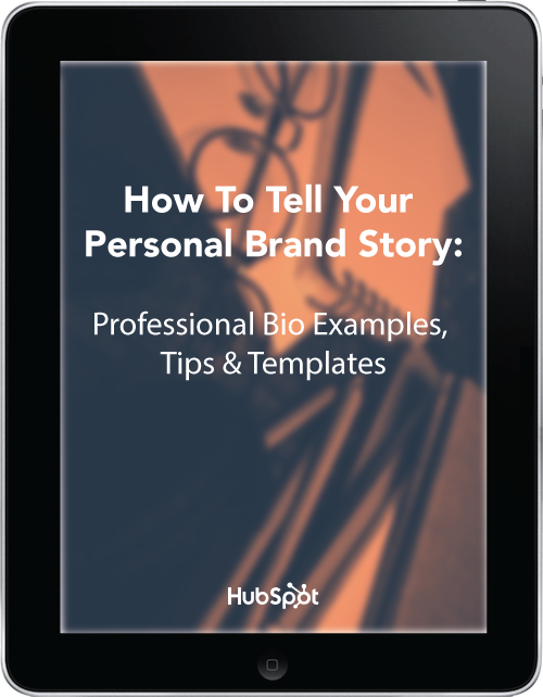 Personal Brand Professional Bio Example