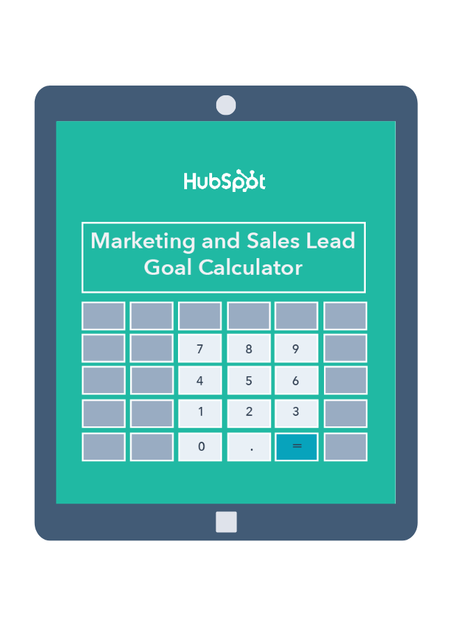 Marketing & Sales Lead Goal Calculator
