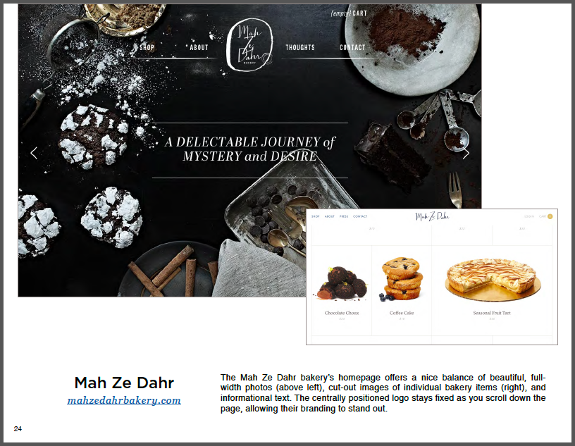 How to Design a Website - 50 Homepage Designs 5