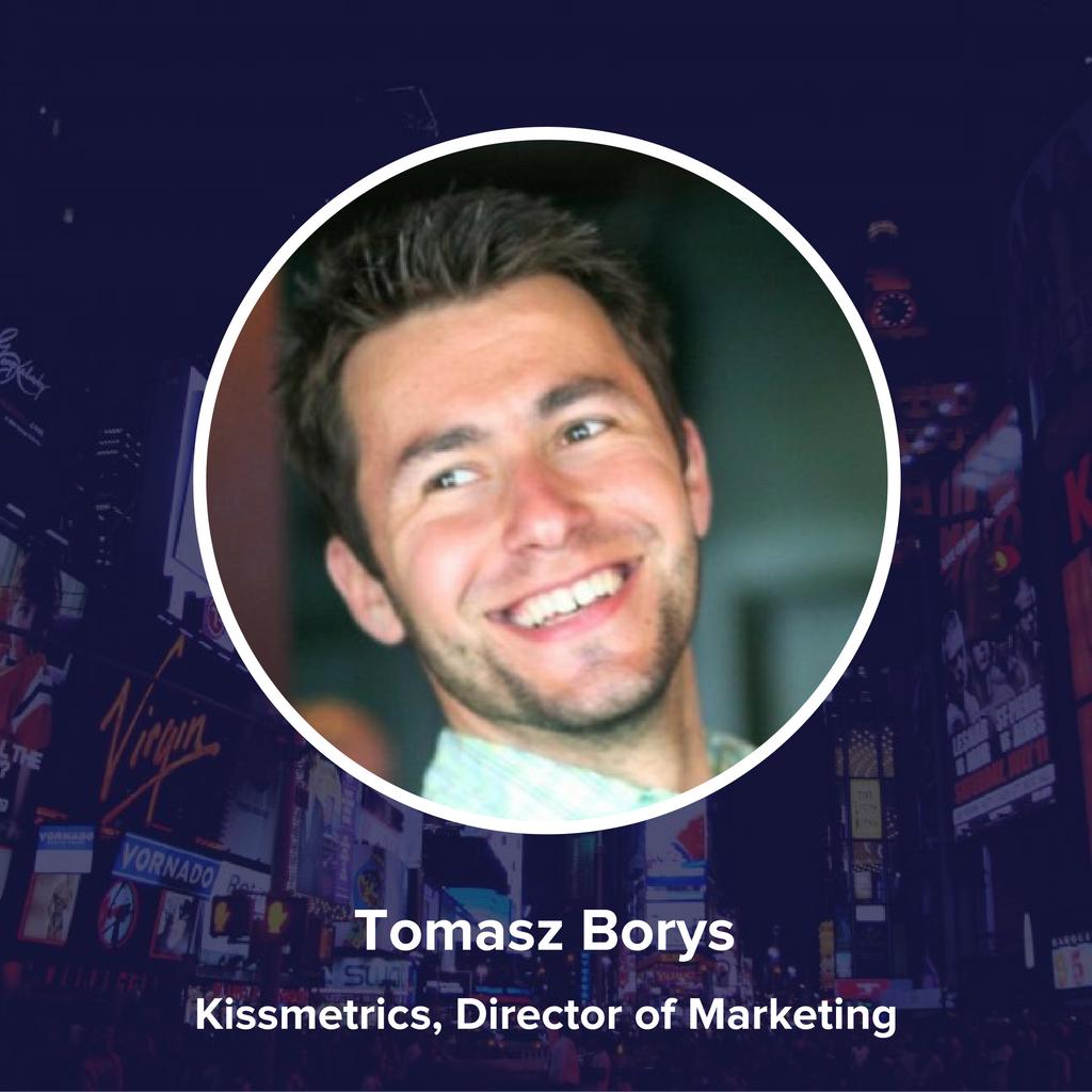 Tomasz Borys, Kissmetrics