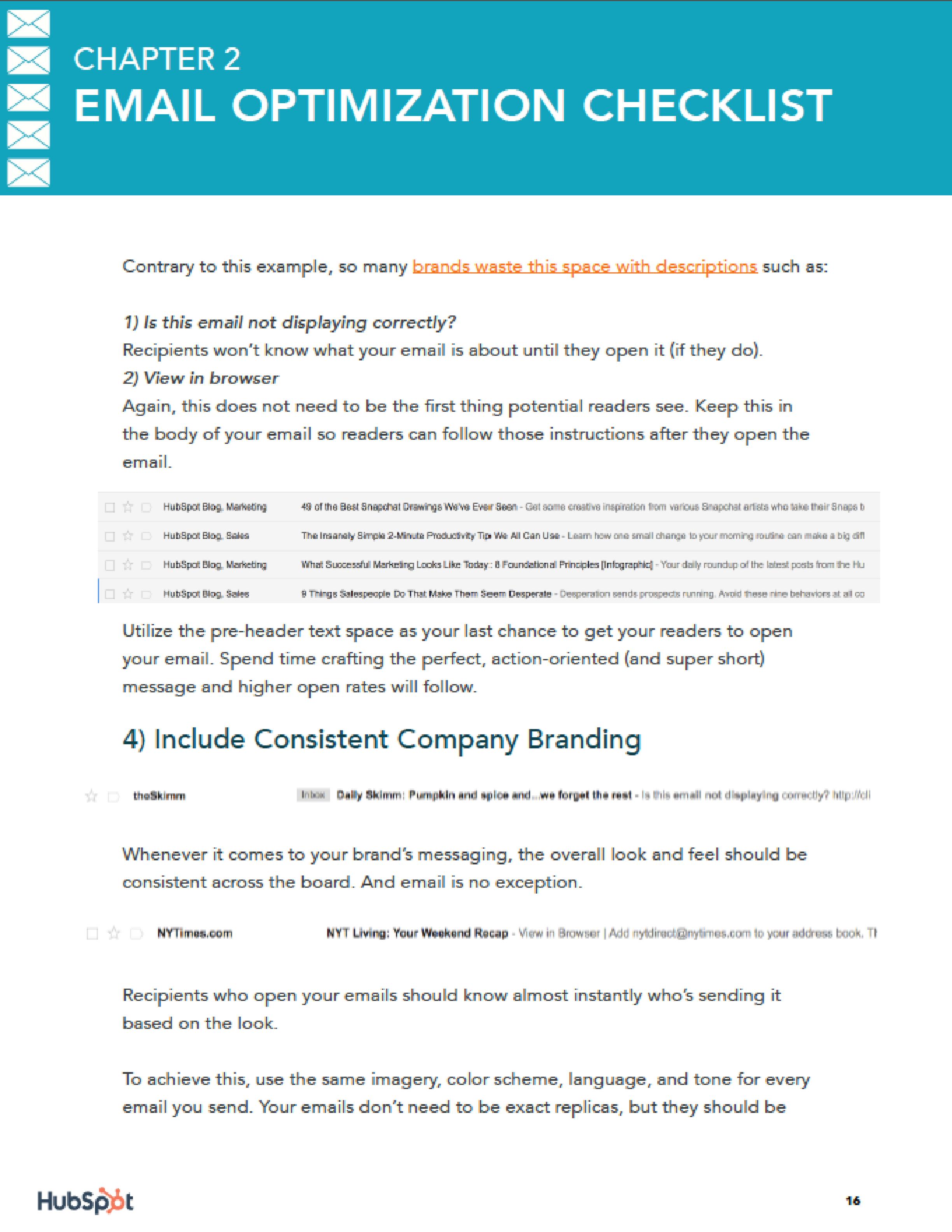 Email Optimization Checklist for Startups and Entrepreneurs