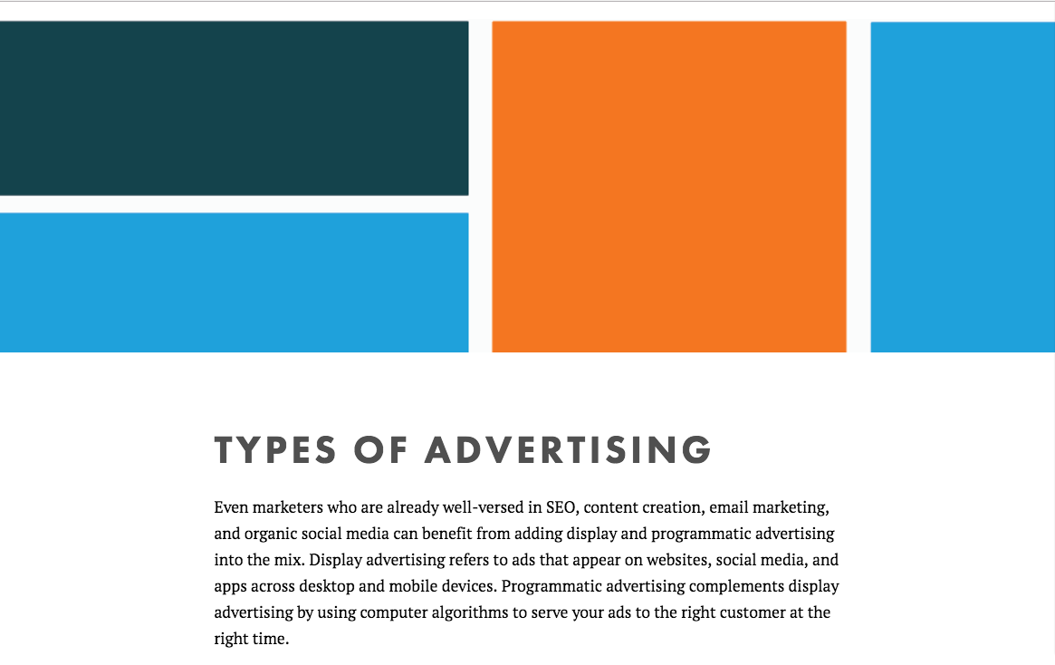 Display Advertising and Inbound Marketing Preview