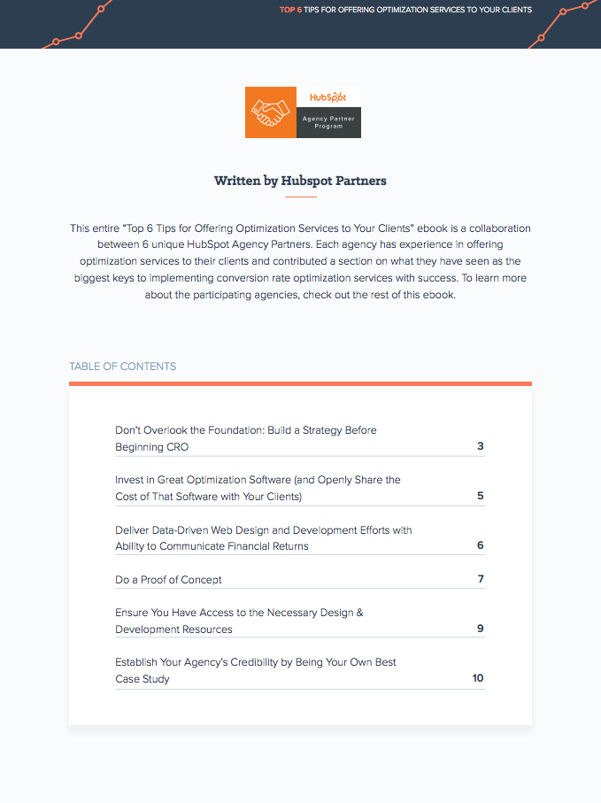 Top 6 Tips for Offering Optimization Services to Your Clients Table of Contents