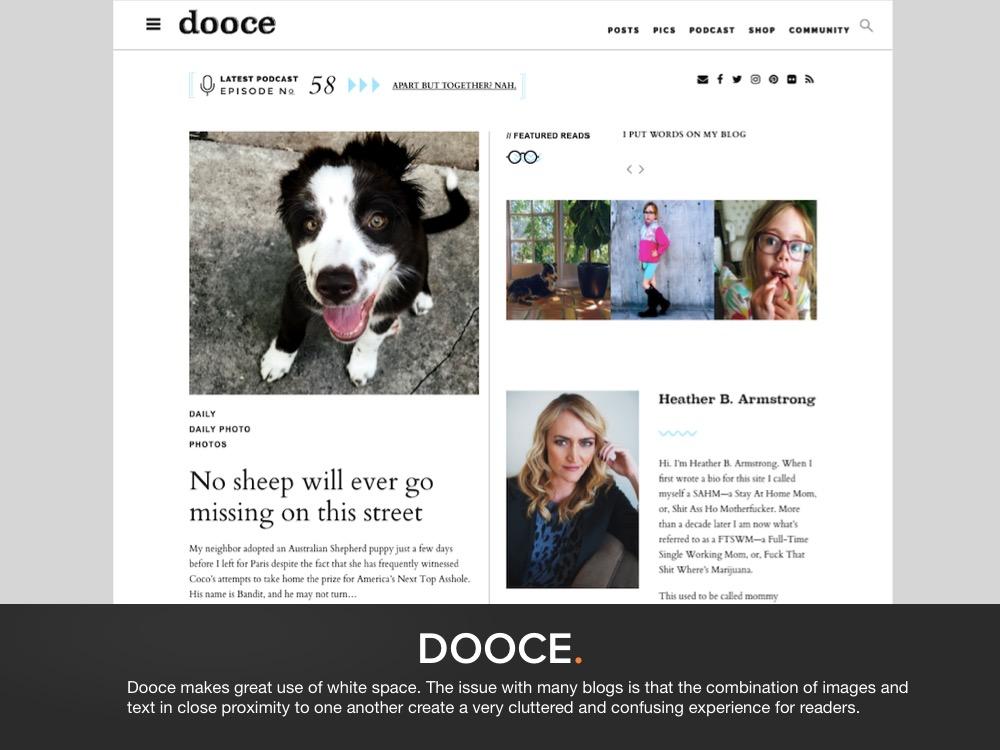 Blog Design Example 4