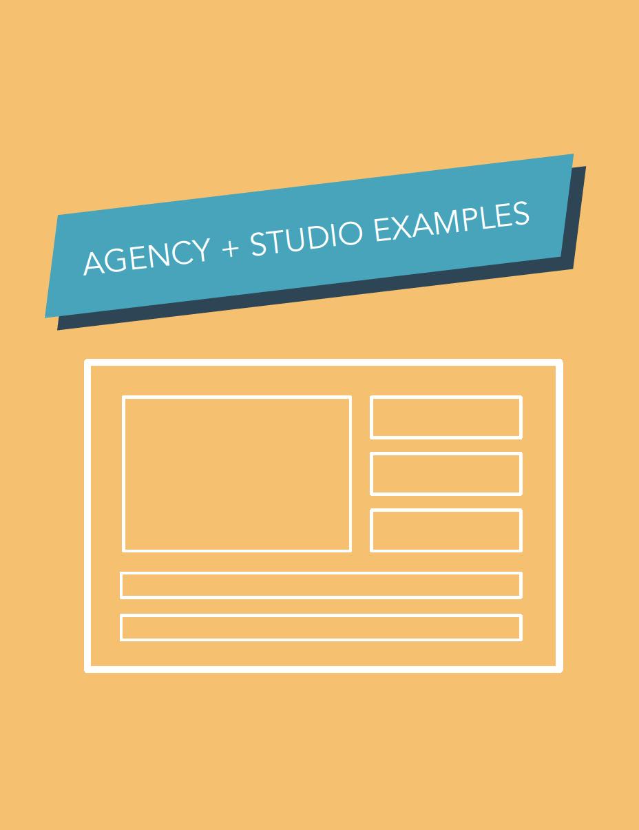 Agency and Studio Website Design Inspiration