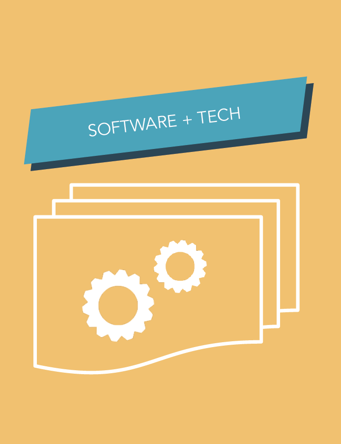 Software and Tech Website Design Inspiration