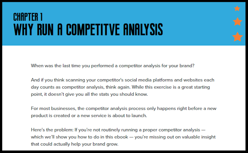 How to Run a Competitor Analysis 1