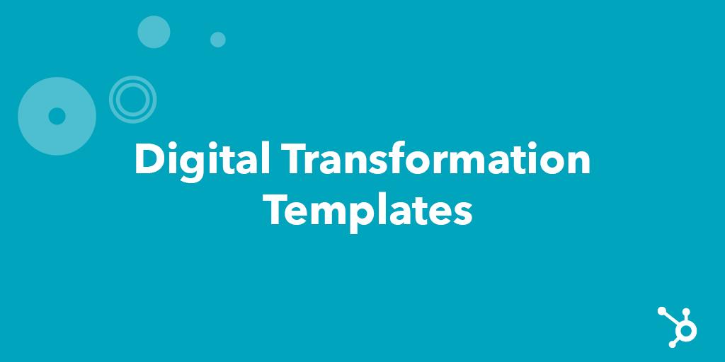 Digital Transformation Templates