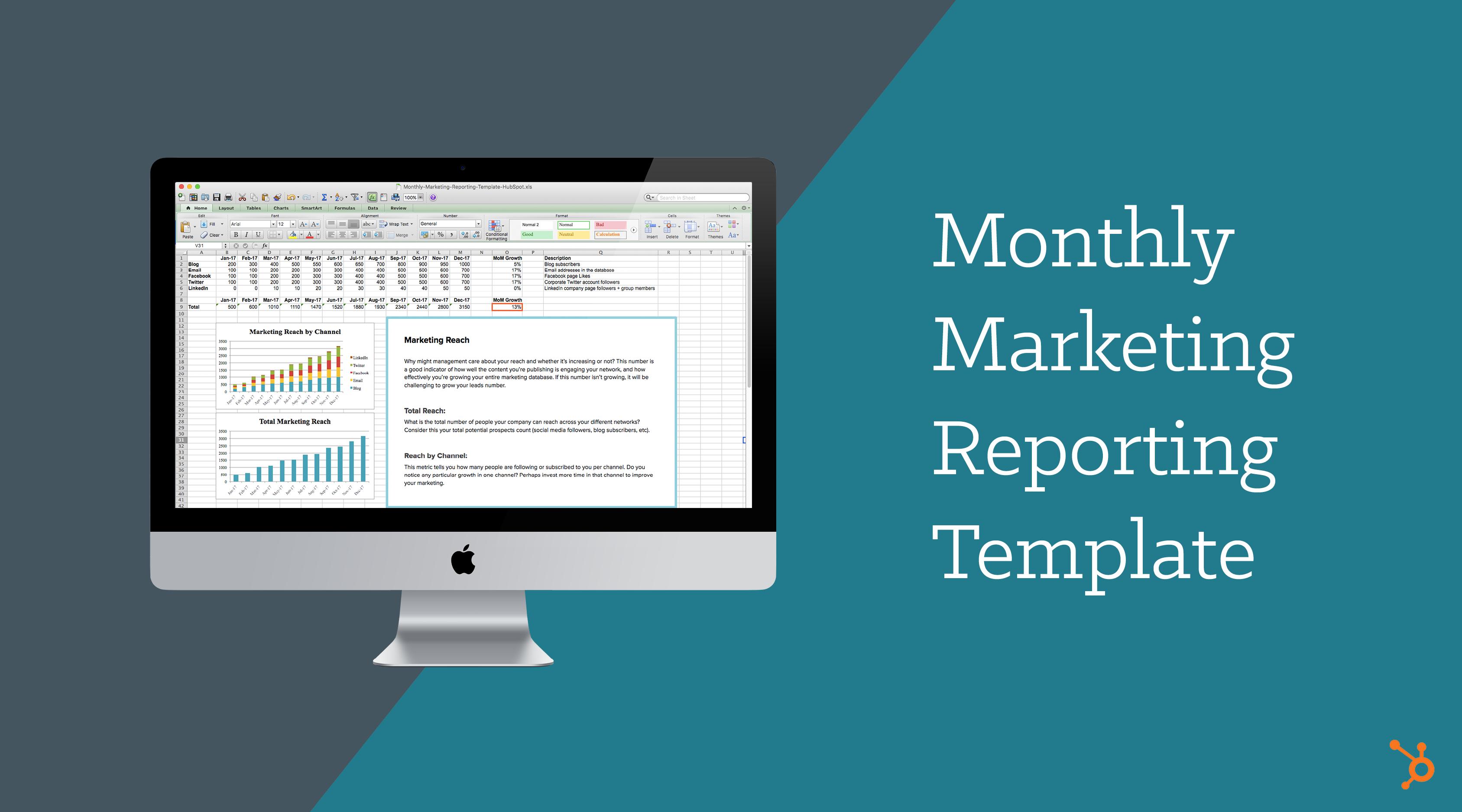 marketing reports templates