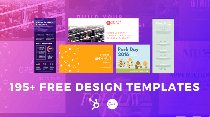 195 visual marketing design templates pronofoot35fo Image collections