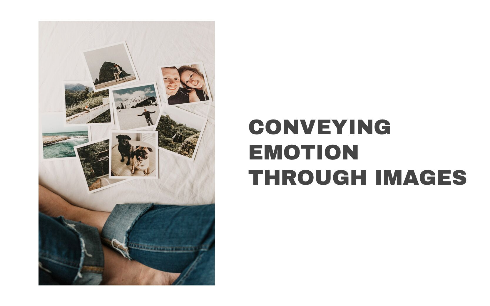 Conveying emotion through images