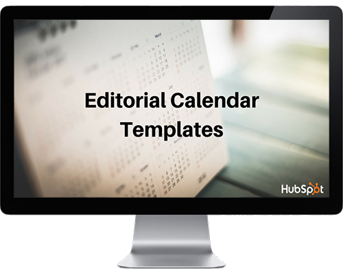 editorial calendar templates on a mac