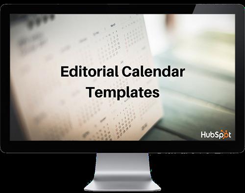 editorial calendar templates on a mac