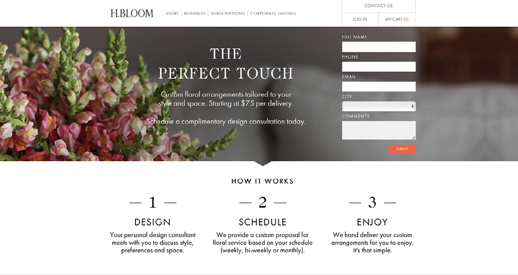 How to Optimise Landing Pages H Bloom