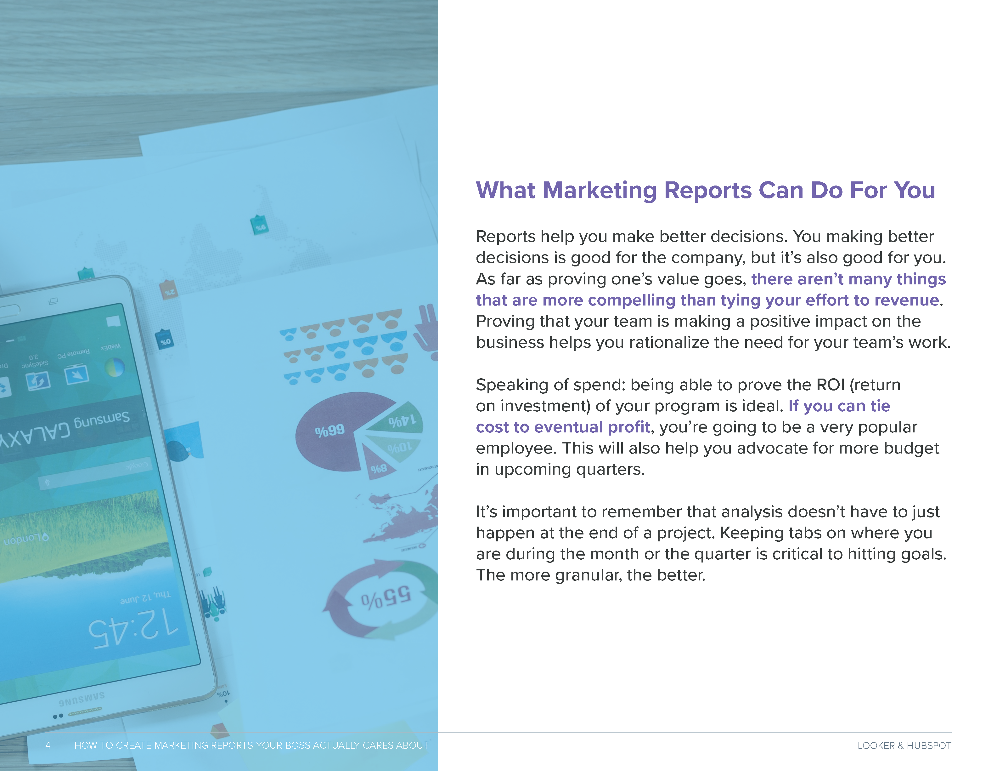How to Create Marketing Reports Preview