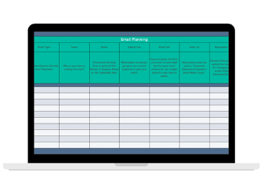 email-planning-template