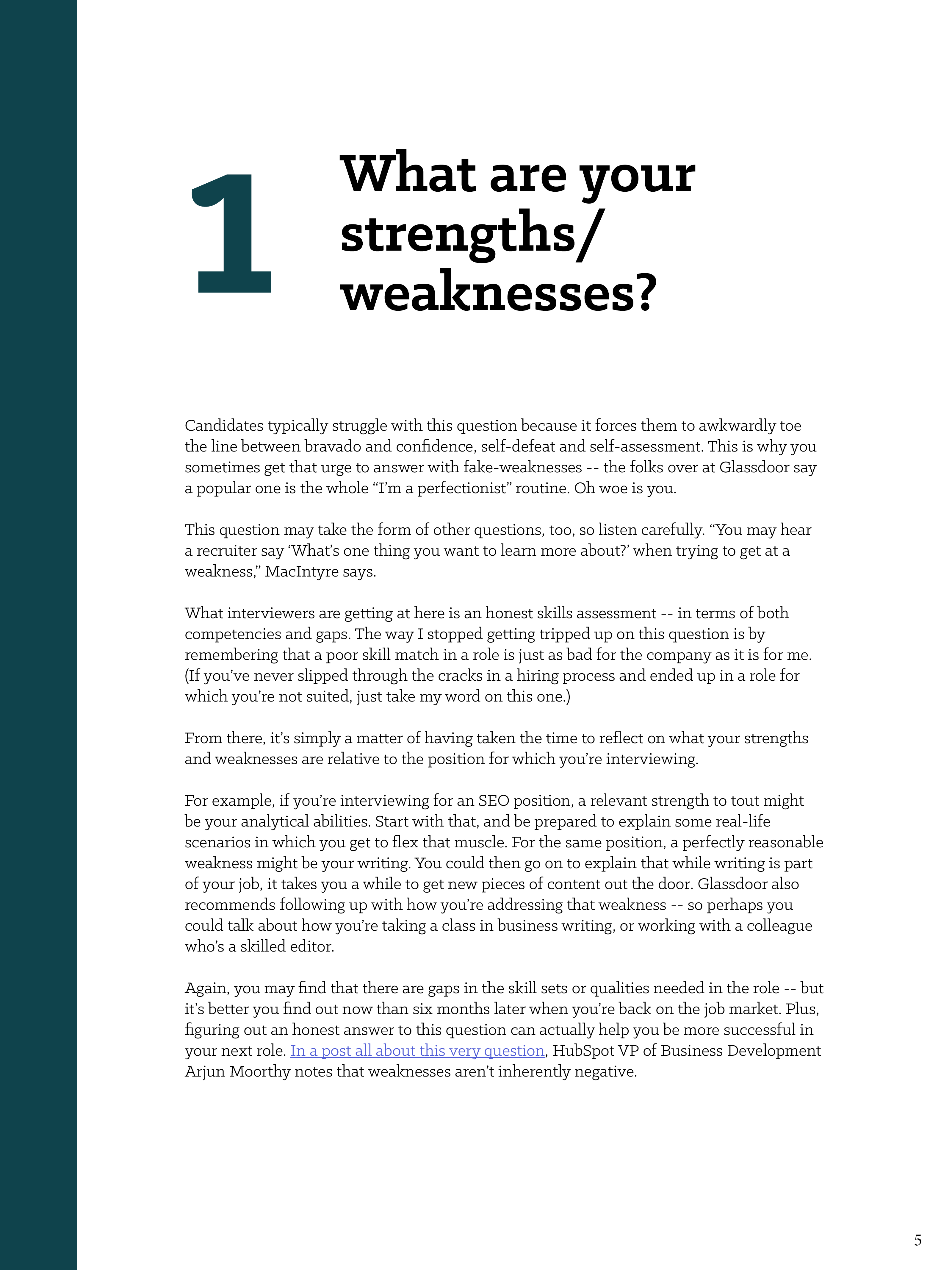 amazing strengths and weaknesses job interview customer service