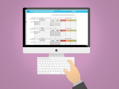 Free Template The Essential Spreadsheet To Track KPIs Across