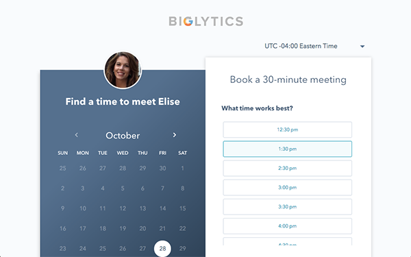 HubSpot Meetings - Book more meetings in less time