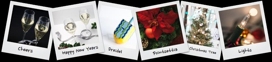 Polaroids for Holidays