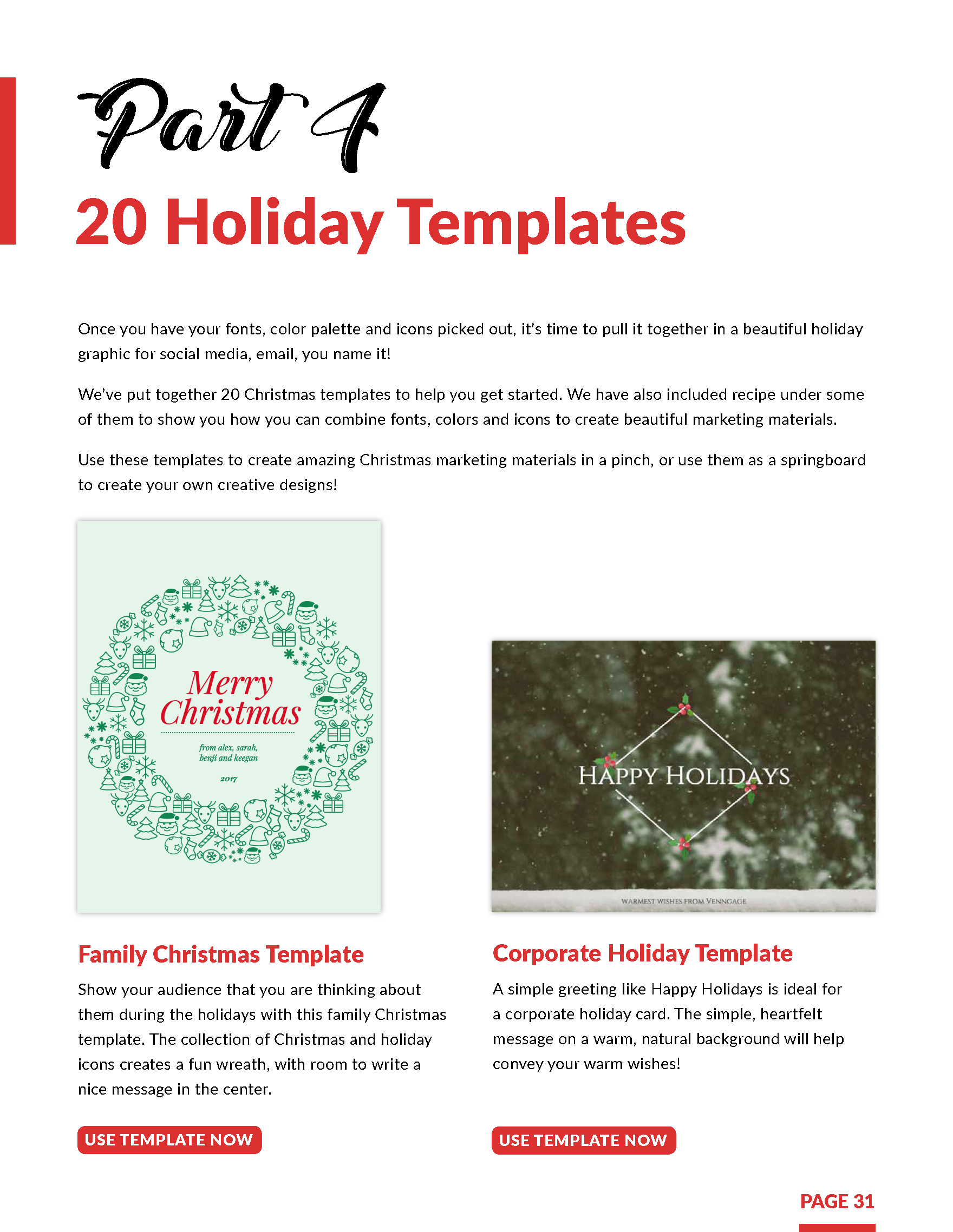 Holiday Marketing Kit From Hubspot And Venngage