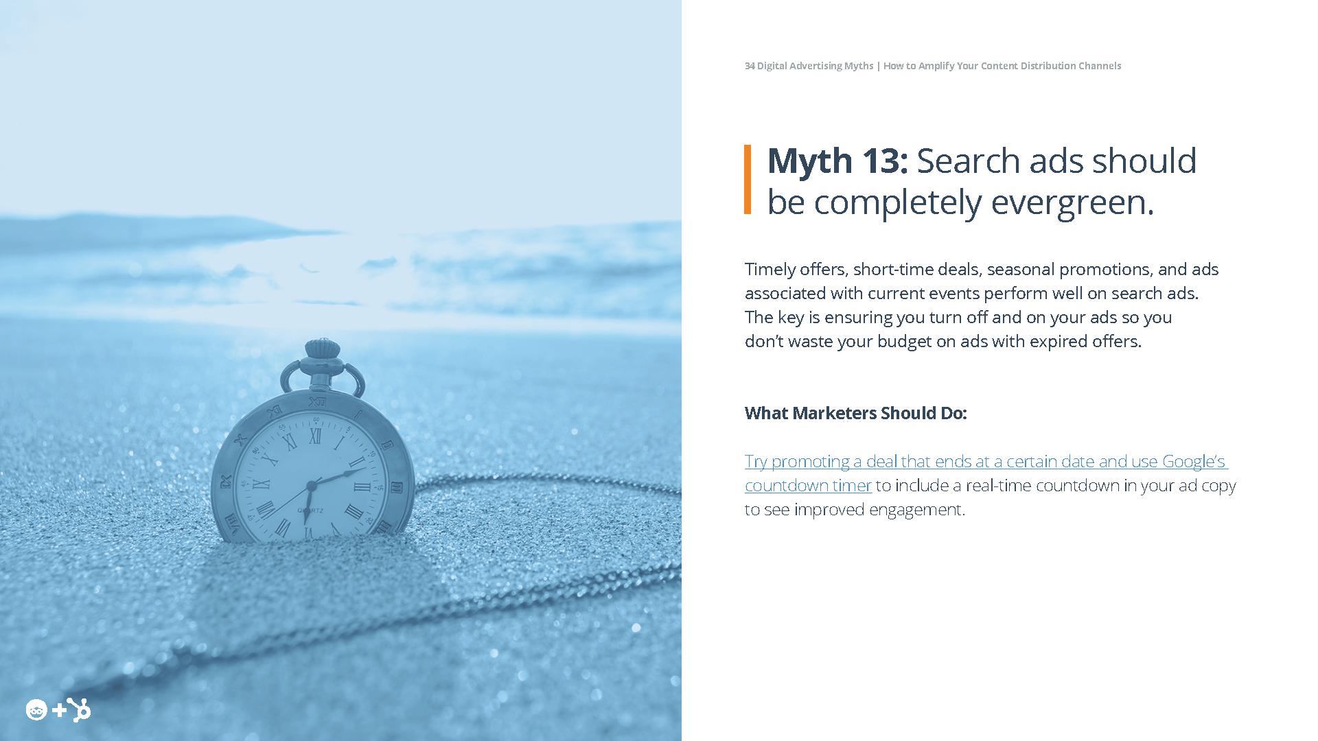 Digital Advertising Myths Ebook Preview