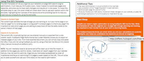 On-Page SEO Template Peek 4