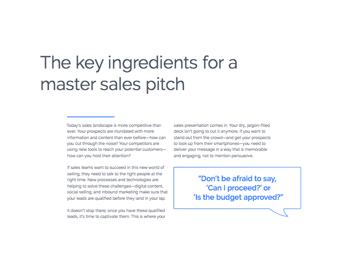 How to Create a Sales Presentation that Closes Deals