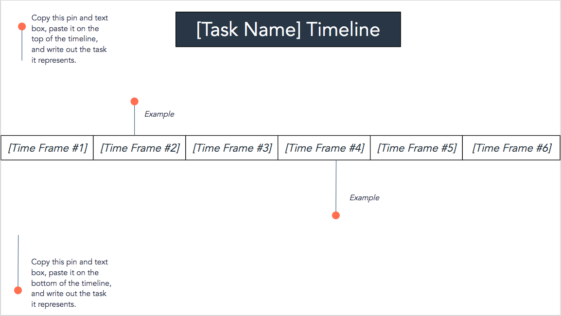 timeline template for business