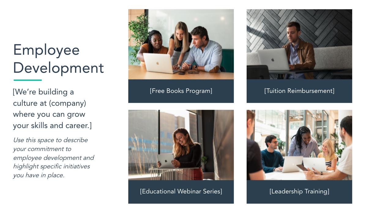 employee development template