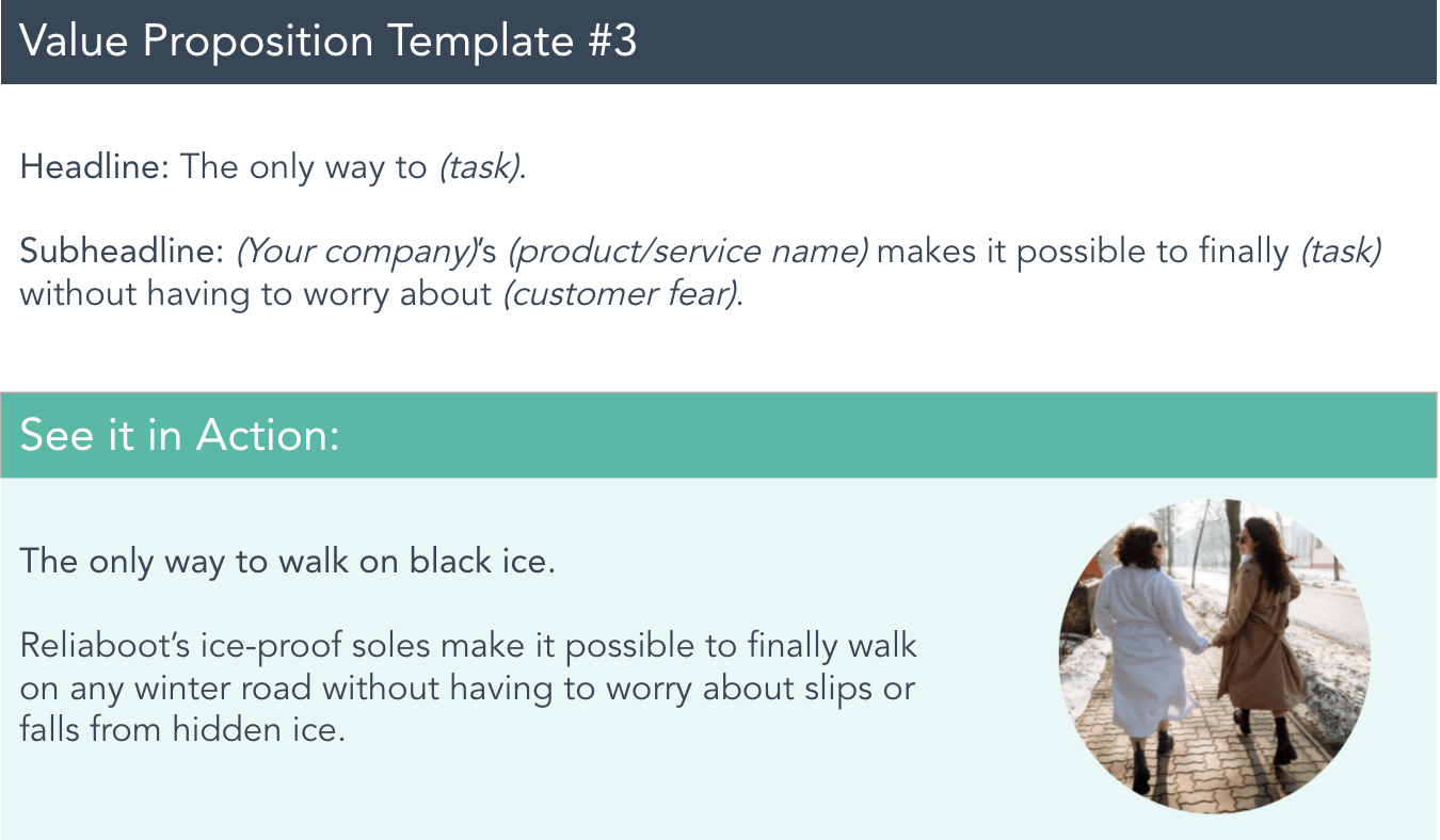 value proposition example