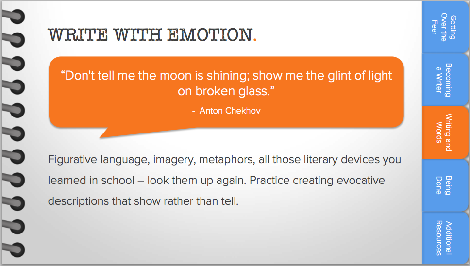 Write With Emotion