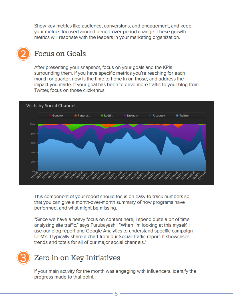 Simply Measured Social Media Report - Slide 3