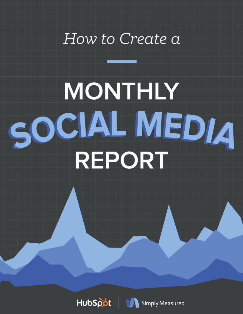 Simply Measured Social Media Report