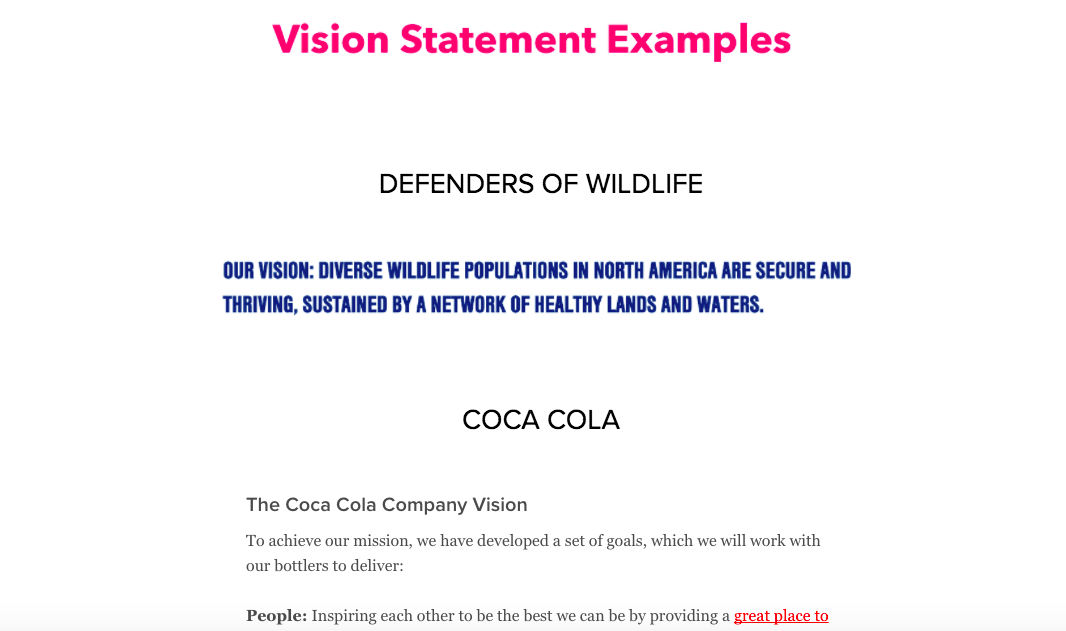 Download The Guide How To Define Inspiring Mission Vision Statements