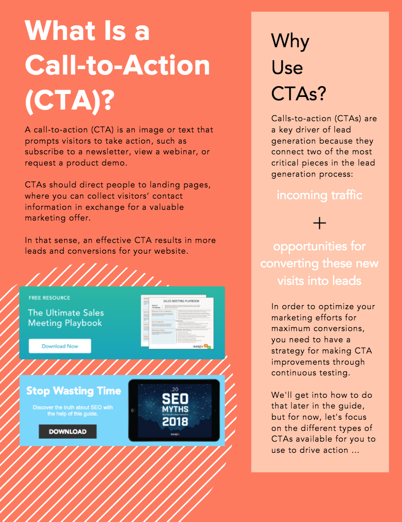 What Is a Call-to-Action?